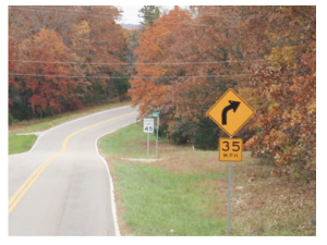 advisory speed limit picture 1